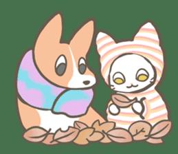 Shiro & Momo sticker #4414468
