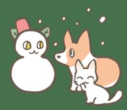 Shiro & Momo sticker #4414469