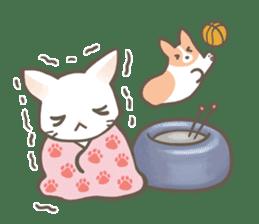 Shiro & Momo sticker #4414470