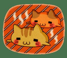 Yummy BurgerCat sticker #4415047
