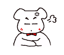 mayugeinu sticker #4416153