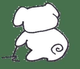 mayugeinu sticker #4416154