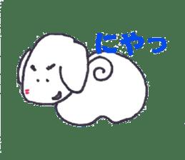 mayugeinu sticker #4416168