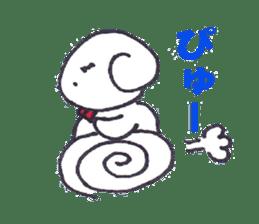 mayugeinu sticker #4416170