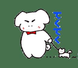 mayugeinu sticker #4416181