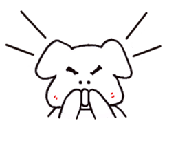 mayugeinu sticker #4416187