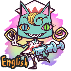 World Comical Monsters English