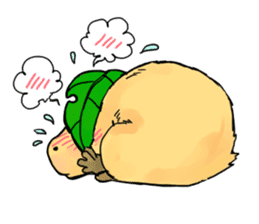 Capybara Life sticker #4420873