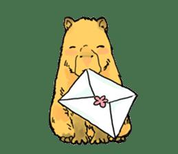 Capybara Life sticker #4420874