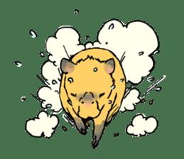 Capybara Life sticker #4420877