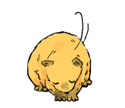 Capybara Life sticker #4420880