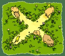 Capybara Life sticker #4420882