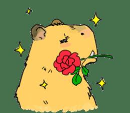 Capybara Life sticker #4420886