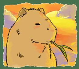 Capybara Life sticker #4420891