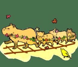 Capybara Life sticker #4420898