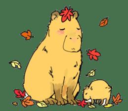 Capybara Life sticker #4420901