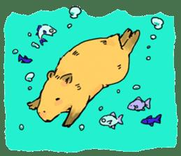 Capybara Life sticker #4420905