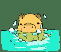 Capybara Life sticker #4420906