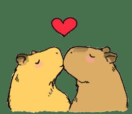 Capybara Life sticker #4420910