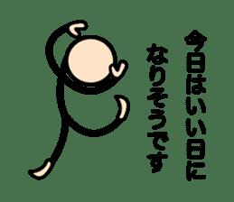 The Stickman World sticker #4421252