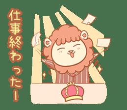 King Lion sticker #4421283