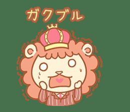 King Lion sticker #4421290