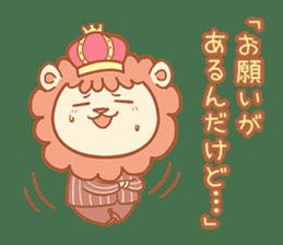 King Lion sticker #4421291