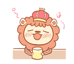 King Lion sticker #4421296