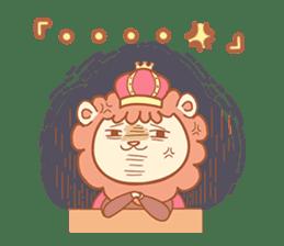 King Lion sticker #4421304
