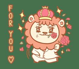King Lion sticker #4421309