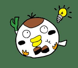 Sparrow Suzumen 2 sticker #4422315