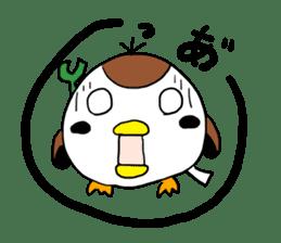 Sparrow Suzumen 2 sticker #4422316