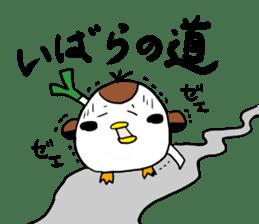 Sparrow Suzumen 2 sticker #4422324