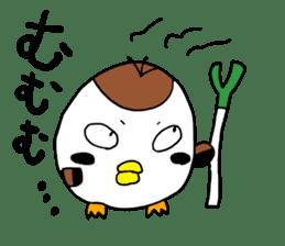 Sparrow Suzumen 2 sticker #4422332