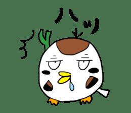 Sparrow Suzumen 2 sticker #4422333