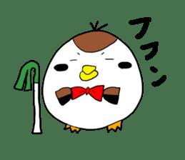 Sparrow Suzumen 2 sticker #4422339