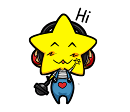 Little Star sticker #4423589