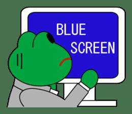 Frog Worker for SE sticker #4435027