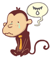 Monkey Monk sticker #4436954