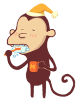 Monkey Monk sticker #4436971