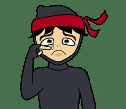 Geisha, Samurai, and Ninja emoji sticker sticker #4437907