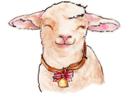 Fancy sheeps sticker #4441946
