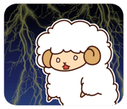Colorful Sheep! sticker #4452469