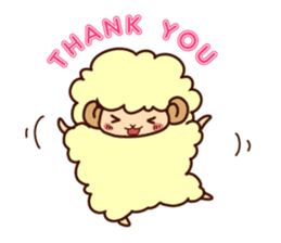Colorful Sheep! sticker #4452470