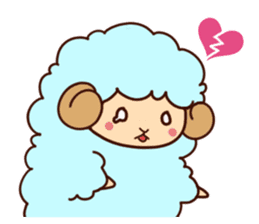 Colorful Sheep! sticker #4452474