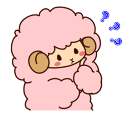 Colorful Sheep! sticker #4452475