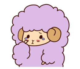 Colorful Sheep! sticker #4452477