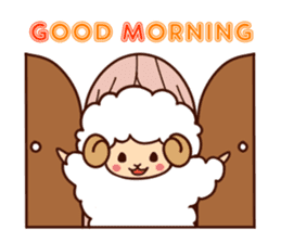 Colorful Sheep! sticker #4452478
