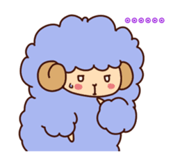 Colorful Sheep! sticker #4452482