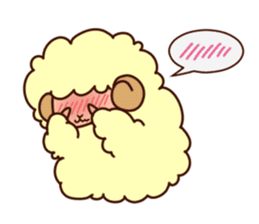 Colorful Sheep! sticker #4452483